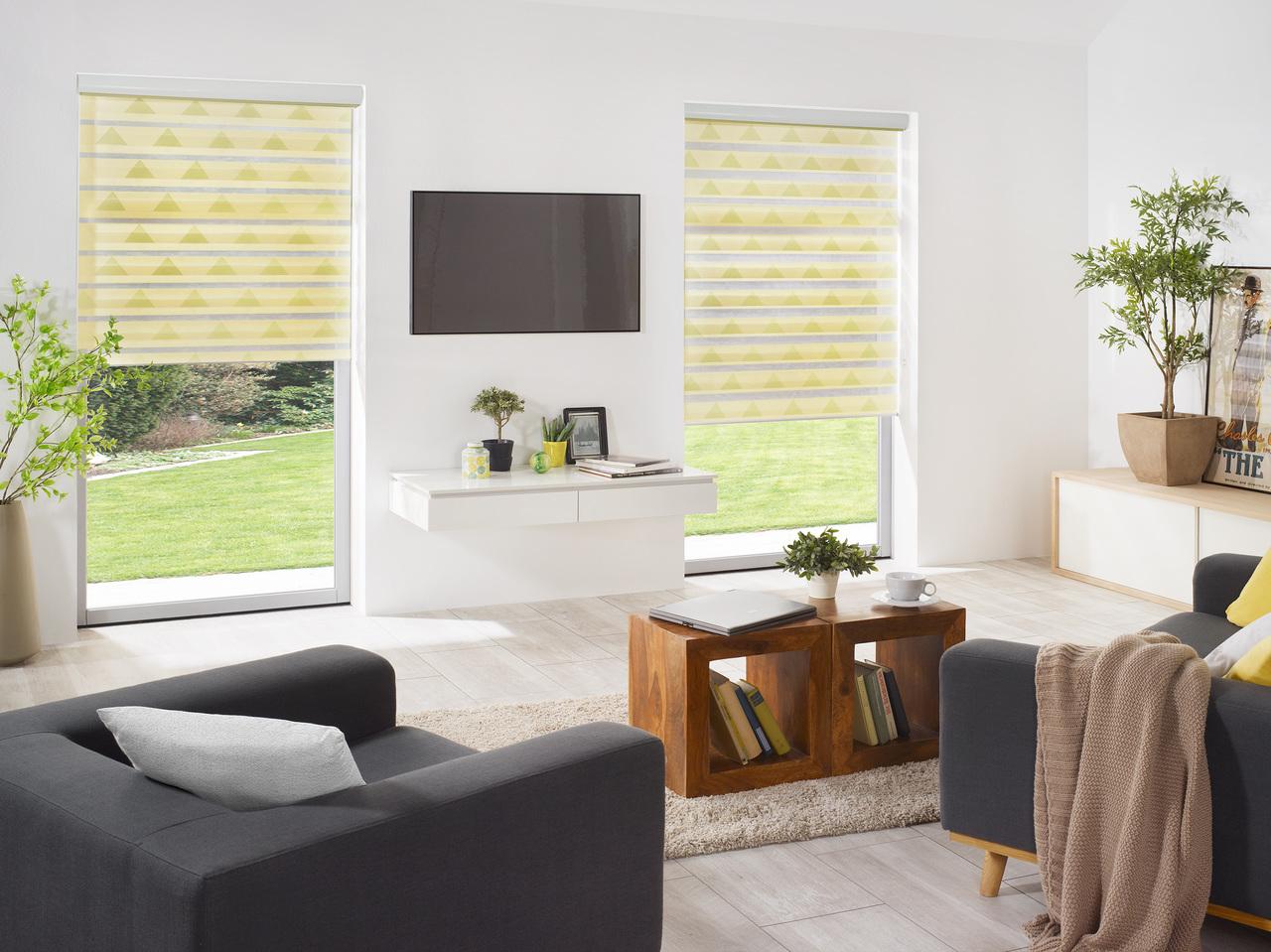plissee doppelrollo my blog. Black Bedroom Furniture Sets. Home Design Ideas