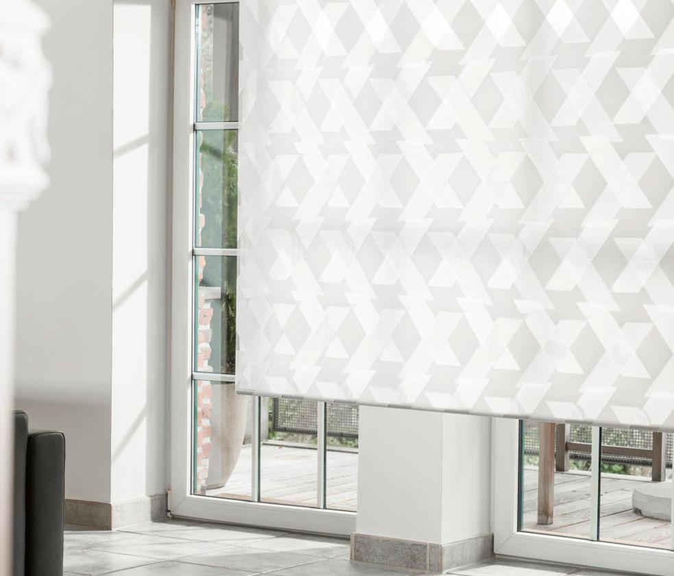 favorit doppelrollo mit muster gq85 kyushucon. Black Bedroom Furniture Sets. Home Design Ideas
