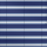 Kadeco-Aluminium-Jalousie mit Farbwechsel<br>Kollektion Living Stripes     Design Ocean Blue