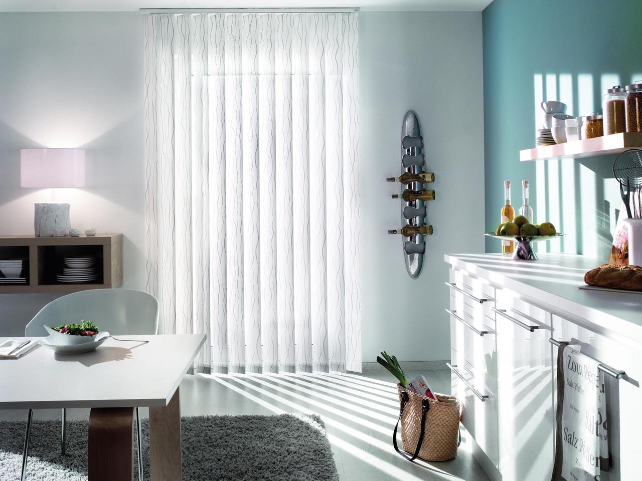 lamellen lamellen vorh nge als multi talent f r dekoration sichtschutz blendschutz und. Black Bedroom Furniture Sets. Home Design Ideas